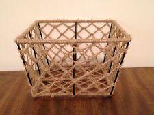 Rope Net Gift Basket Storage Basket Classic Basket ,Special Collection Basket