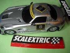 LOTE 59  SCALEXTRIC MERCEDESMBENZ SLS AMG GT3   NUEVO  1/32