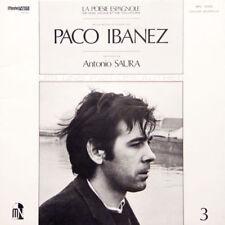 PACO IBANEZ La Poésie Espagnol De Nos Jours Et FR Press Moshé-Naim MN 10 003 LP