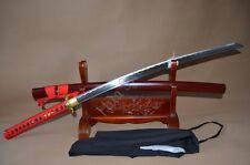 Handmade 1060 High Carbon Steel Katana Real Sword Japanese Samurai Dragon