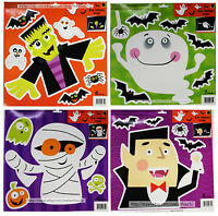 DOLGENCORP* Decor CAR WINDOW CLING Decoration HALLOWEEN Reusable *YOU CHOOSE*