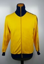 Adidas Look West Germany Beckenbauer Club 70s 80s Yellow Track Top Jacket Sz M