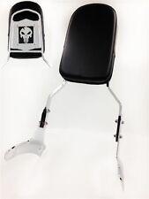 Skull Backrest Sissy Bar For 1997-2003 Honda Shadow Ace 750 Vt750 400 Vt400