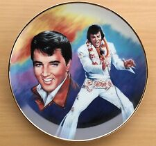 1989 Elvis Presley Remembered 5th in Series Forever Yours Plate Susie Morton Coa