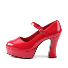 Red Ruby Slippers Dorothy Mens Drag Queen Halloween Costume Shoes size 12 13 14
