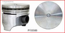 Engine Piston Set ENGINETECH, INC. P1533(8)040