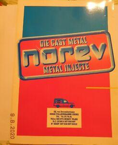 grand catalogue  NOREV 1986 avec prix et sac plastique