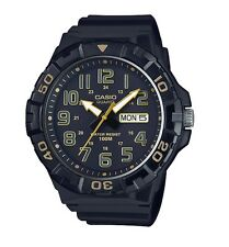 Casio Watch * MRW210H-1A2V Diver Look XL 100WR Black & Gold COD PayPal
