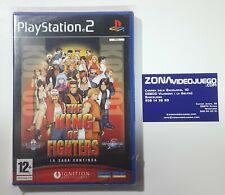 The King of Fighters La saga continua, Playstation 2, Pal-Esp, Nuevo a estrenar.