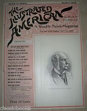Illustrated American Magazine 1894  April 28th MUSEUM FILED VF/NM