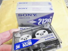 3x data cartridge qd2120 sony par 93m 80/60/13 18253