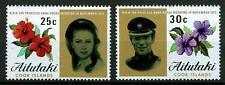 AITUTAKI - 1973 - Matrimonio della Principessa Anna e del Capitano Mark Philips