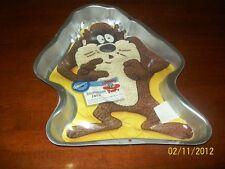 Wilton~LOONY TUNES~TASMANIAN DEVIL Birthday/TAZ fans Cake Pan,Tin,Mold +INSERT
