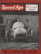 SPEED AGE Magazine, February 1951