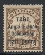 TOGO SGH27 - 1914 - ½ on 3pf brown - mounted mint