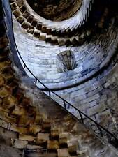 STONE STAIR CASE SPIRAL CASTLE PHOTO FINE ART PRINT POSTER HOME DECOR BMP119B