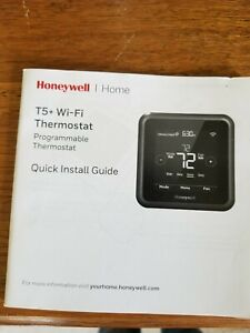 Honeywell Home T5+ Wi-Fi Touchscreen Smart Thermostat