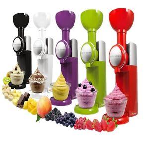 DIY Eismaschine nach Hause Obst Eismaschine machen Eismaschine tragbaren Mixer