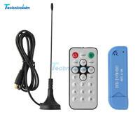 Digital USB 2.0 DVB-T SDR+DAB+FM HDTV TV Tuner Receiver Stick RTL2832U+ R820T2
