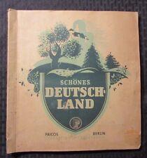 Vintage Schones DEUTSCH-LAND Scrapbook? VG+ w/ 200 Photo Cards FVF