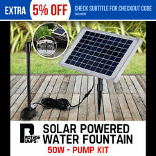 Solar Garden Water Pumps & Pressure Tanks