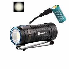 Olight S1 MINI HCRI 450 Lumen High CRI USB Rechargeable Compact LED Flashlight