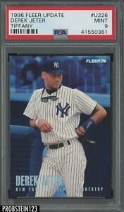 1996 Fleer Update Tiffany #U226 Derek Jeter Yankees HOF PSA 9 MINT