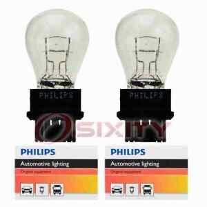 2 pc Philips Brake Light Bulbs for Chrysler 300M Chrysler R T Cirrus kg