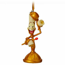 Disney Beauty and The Beast Lumiere Light-up Sketchbook Ornament