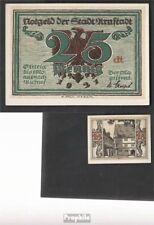 Arnstadt Notgeld: 43.2 Notgeld der Stadt Arnstadt, Bst.: dt bankfrisch 1921 25 P