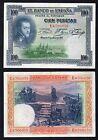 100 pesetas Banco de Espana 1925 qSUP/AU- °