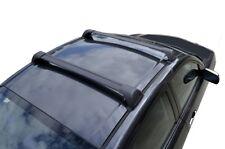 Aero Roof Rack Cross Bar for Mitsubishi ASX 2010-20 Lockable Flush Black