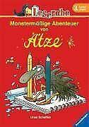 Leserabe. Monstermäßige Abenteuer von Ätze. 3. Lesestufe... | Buch | Zustand gut
