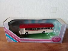 EFE CODE 3 RED AND WHITE BUS