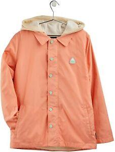 New XL Burton 3 in 1 Ripton Coach Jacket Pink Dahlia/Creme Brulee Heather