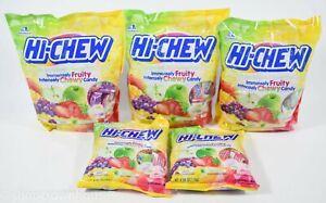 5 Morinaga HI-CHEW Chewy ORIGINAL MIX Strawberry/Apple/Mango+ 46.5oz ttl 10/2021