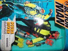 "$VTG~1990s~1995~Kenner~Action~Man~Scuba~Diver~12""~action~figure~doll~gi-joe~"