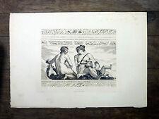 APOLLON (VILLA BARBARO) Gravure de A. GILBERT d'ap. PAUL VERONESE 19e s. L'Art
