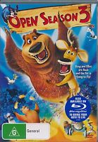 Open Season 3 DVD NEW and sealed Region 4 PAL
