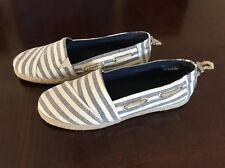 Women's Nautica Rudder Slip On Shoes New Size 9.  Striped.