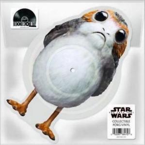 "John Williams - The Last Jedi - Ltd Edt Porg Picture Disc Vinyl 10"""