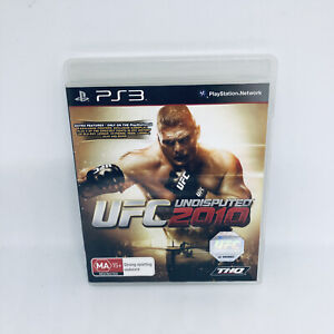 UFC UNDISPUTED 2010 Sony Playstation 3 No Manual Game Good Condition PS3