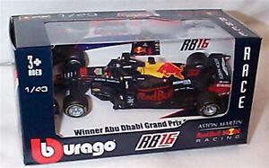 F1 2020 Aston Martin Red Bull Racing RB16 Max Verstappen Abu Dhabi 1:43 BU38053