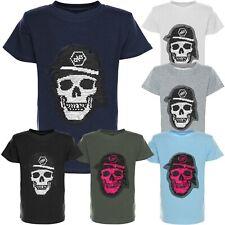 T Shirt Shirts Wende Palliettent Kurzarm Kinder Jungen 21316 SALE RESTPOSTE