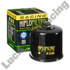 HIFLO Filtro HF204RC Filtro de aceite para caber Yamaha FJR FZ1 6 8 MT-03 07 09 10 XJ6 xsr