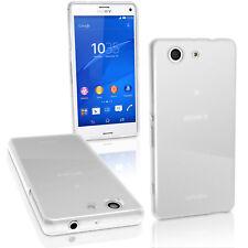 Esmerilado Brillante Tpu Gel Funda Para Sony Xperia Z3 Compacto d5803 d5834 Skin Cover