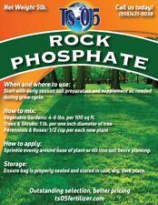 Organic Rock Phosphate Fertilizer Rock POWDER 5 lbs.