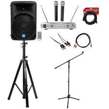 "Rockville Pro 15"" ipad/iphone/Android/Laptop/TV Youtube Karaoke Machine/System"