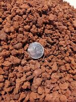 Horticultural 15LBS Lava Rock Soil Additive For Cacti, Succulents. 3/8. Red