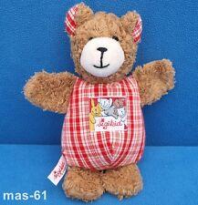 Sigikid tache teddy animal en peluche ours bear rouge peluche